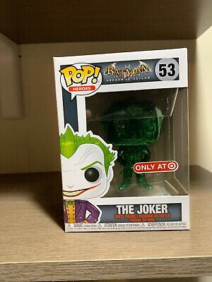 Funko Pop 2019 Nycc Target Exclusive Fall Convention # 53 The Joker Chrome