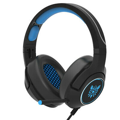 ONIKUMA Gaming Headphone Mic 3.5mm Stereo Sound Over Ear Headset for PC PS4 Xbox