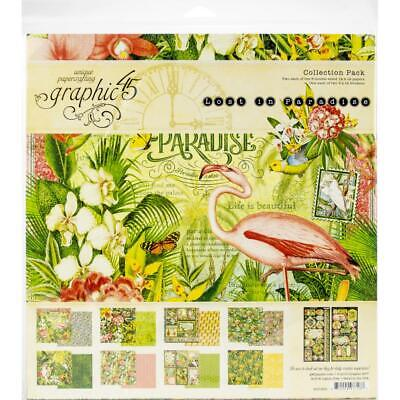 "G45 - Lost In Paradise -  Collection Pack  12""x12"""