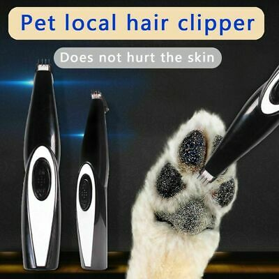 Rechargeable Electric Pet Clipper Hair Trimmer Comb Grooming Clippers