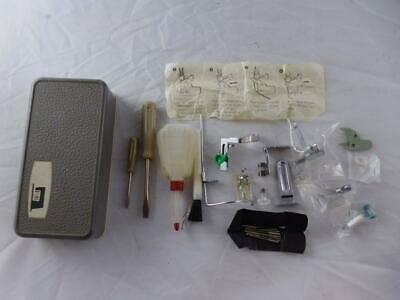 Frister Rossman Cub 3 Sewing Machine Accessories in two-tone box