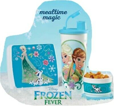 Tupperware Disney Frozen Fever Lunch Set