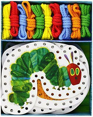The Very Hungry Caterpillar Lacing Cards [With 10 Laces] (World of Eric Carle) b