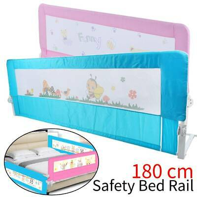 180CM Bed Safety Guards Folding Child Toddler Bed Rail Safety Protection Bedroom