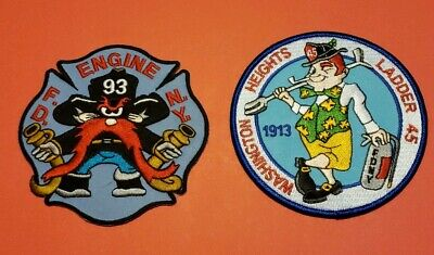 New York City Fire Department Patches E-93/L-45