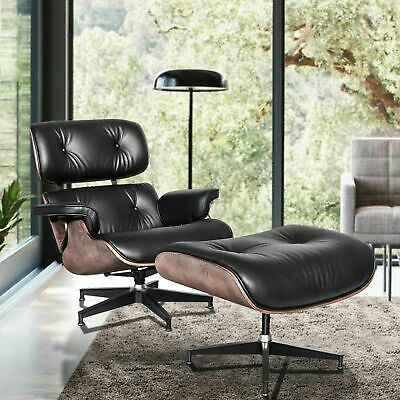 Remarkable Mid Century Eames Lounge Chair Ottoman Top Quality Genuine Bralicious Painted Fabric Chair Ideas Braliciousco