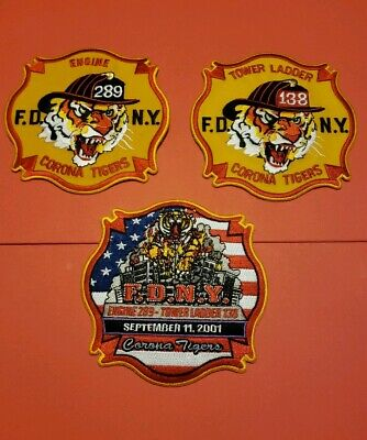 New York City Fire Department Patches E-289/L-138