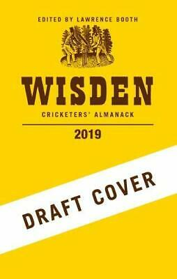 Wisden Cricketers' Almanack 2019 New 9781472964052 Fast Free Shipping--