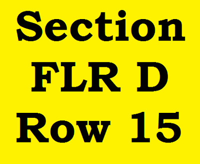 2 Tickets Billy Joel Notre Dame Stadium South Bend IN Saturday June 20, 2020