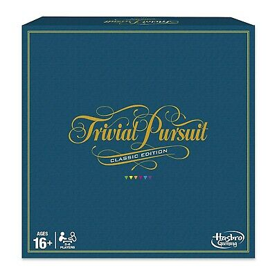 Hasbro Trivial Pursuit Classic Edition Family Board Game NEW
