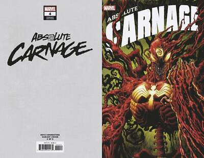 Absolute Carnage #4 Hotz Connecting Variant Marvel Comic 1st Print 2019 NM