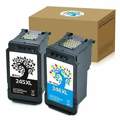 2PK 246XL 246 XL Color Ink Cartridge for Canon PIXMA MG2922 MG2924 MG2920 iP2820