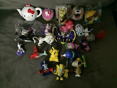 Lot of McDonald's Happy Meal Toys: My Little Pony, Transformers, Pokemon, Snoopy