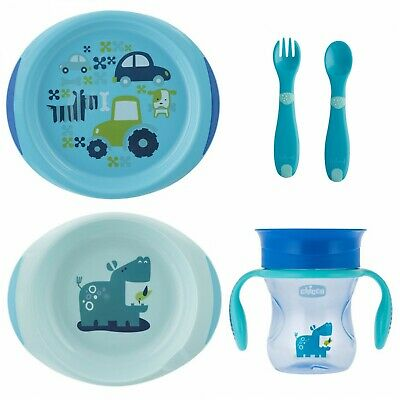 Set Pappa Chicco All You Need Set Azzurro 12m+