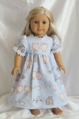 Doll Clothes fits 18 inch American Girl Dress Nightgown