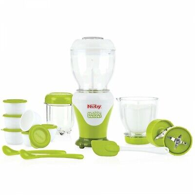 Set Frullatore Pappa Nuby Mighty Blender 18 pz