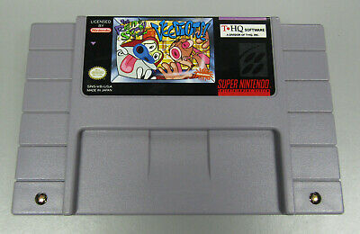 The Ren and Stimpy Show: Veediots, Video Game Cartridge for SNES Super Nintendo