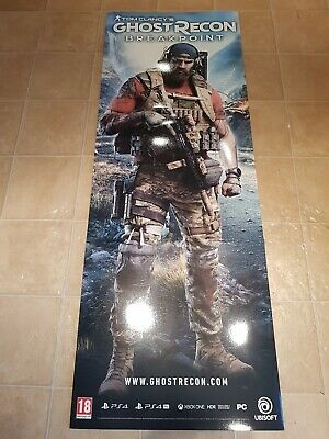 4 Large Shop Display Stand Borderlands 3 Ghost Recon Nba 2k 20 Rare Xbox Ps4