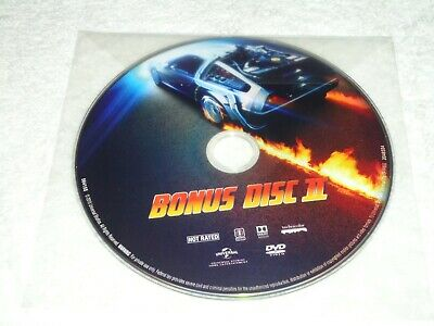 DVD only BONUS DISC 2 from Back to the Future 30th Anniversary Trilogy