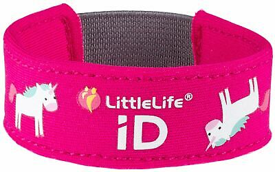 LittleLife LITTLELIFE SICUREZZA ID STRAP - UNICORN Nuovo
