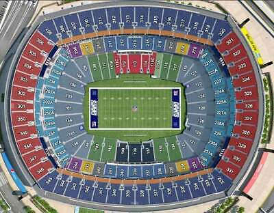 New York Giants Vs. Dallas Cowboys 11/4/19 8:15 Pm 2 Tix With Parking