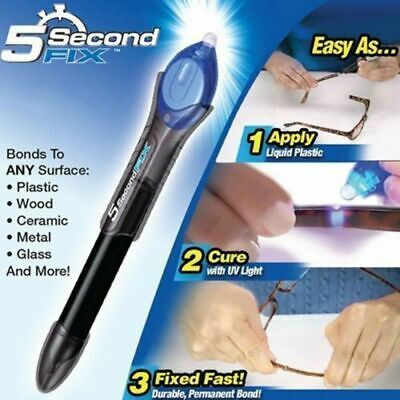 Anything in 5 second Fix UV Light Repair Tool With Glue Super Powered