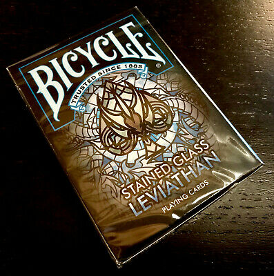 New Sealed Bicycle Stained Glass Leviathan Playing Cards Deck USPCC