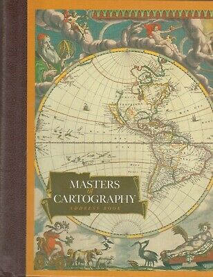 Masters Of Cartography Address Book Huntington Library Clean No Writing