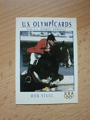 US Olymp Cards Rob Stull OS 1992 Nr. 55 Trading Card