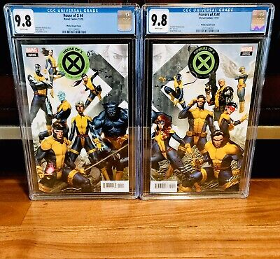 CGC 9.8 House of X #4 & Powers of X #4 Molina Connecting Variant Set NM MARVEL