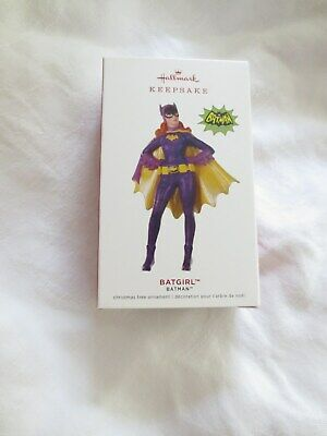 Hallmark Ornament Limited Edition 2019 Batgirl/ Batman Series Tv