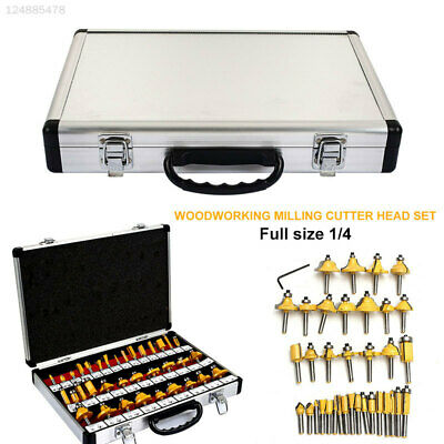 976B Yellow Woodworking Rotary Tool Woodworking Cutter Drill Bits Wood Portable