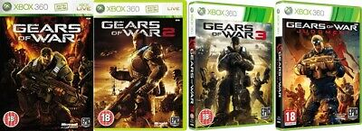 gears of war 1,2,3 and judgment    xbox 360 + xbox one   pal