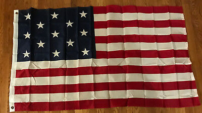 The First Official Navy Flag (1777-1795) American Flag 3' x 5' Nylon