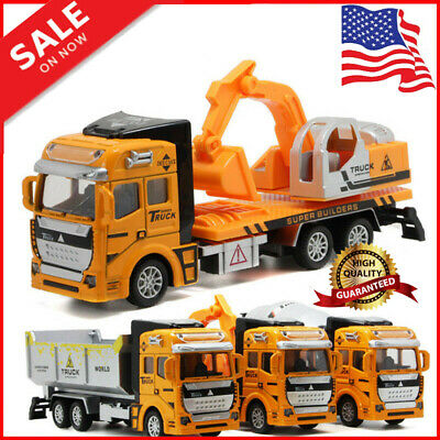 Toys for Boys Excavator Truck Car 2 3 4 5 6 7 8 9 10 Year Age Kids Xmas Toy Gift