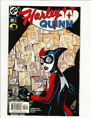 Harley Quinn #28 Dc Comics Lieberman Story Mike Huddleston Cover & Art 2003 Key