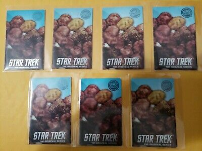 Star Trek Tribbles 7pk Cards, Dave and Busters