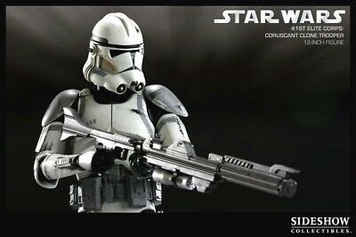 Sideshow Militaries of Star Wars 41st Coruscant Clone Trooper 1:6 Figure