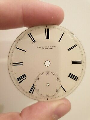 Antique White Enamel Pocket Watch Dials - Various Sizes Available 37mm to 50mm
