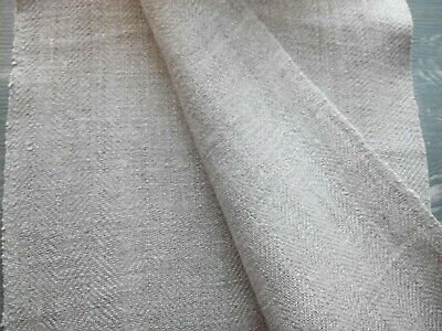 Handvowen Herringbone Antique Linen Flax Homespun Hard Fabric Upsholtery