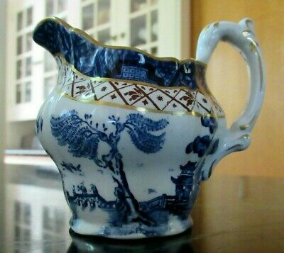Booths REAL OLD WILLOW  England Small Jug Pitcher Creamer Chinoiserie A8025