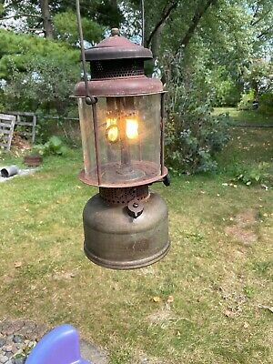 1919 Coleman Lantern Quicklite 😁😁😁 WORKS.  NO GLASS GLOBE