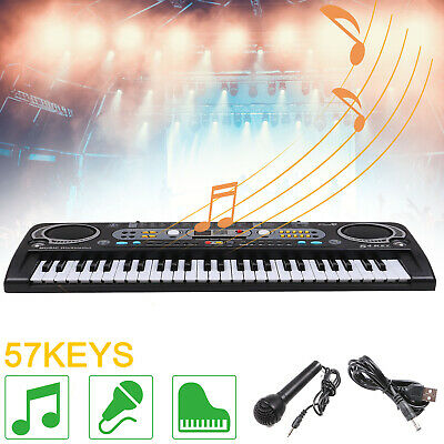 Musical Keyboard Piano 54 Keys Electronic Electric Digital Beginner Adult Sets