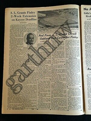 Kansas City Athletics 1964 Charles Finley Ready For Oakland Move + Pete Rose Wed