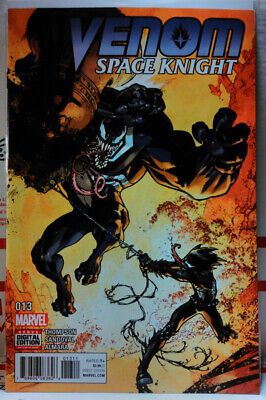 VENOM SPACE KNIGHT #13 MARVEL COMICS LOW PRINT RUN FINAL ISSUE gerardo sandoval