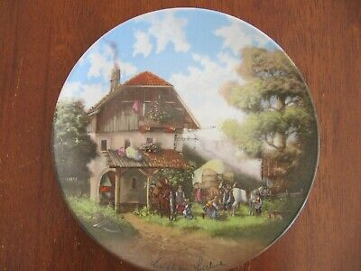 Collectable Seltmann Weiden Bavarian Plate #4848 by Christian Luckel c.1986