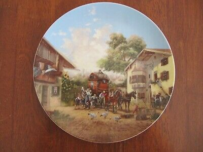 Collectable Seltmann Weiden Bavarian plate #5141 by Christian Luckel c.1986