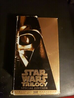 Star Wars Trilogy (VHS, 1997, Special Edition)
