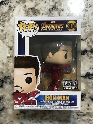 Funko Pop! Iron Man FYE Exclusive #304 Infinity War Avengers