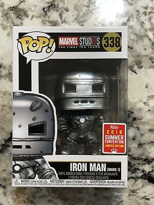 Funko Pop! Iron Man Mark 1 #338 Avengers 2018 Summer Exclusive GameStop